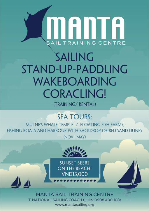 Flyer 2014-MANTA Sail Training Centre-English