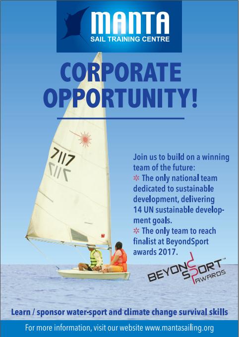 Corporate Opportunity-Oi magazine-MANTA Sail Training Centre